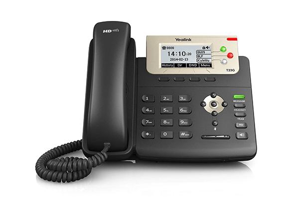 Yealink T23G Gigabit POE IP Phone