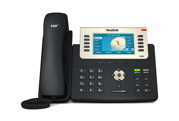 Yealink T29G POE Gigabit Colour IP Phone