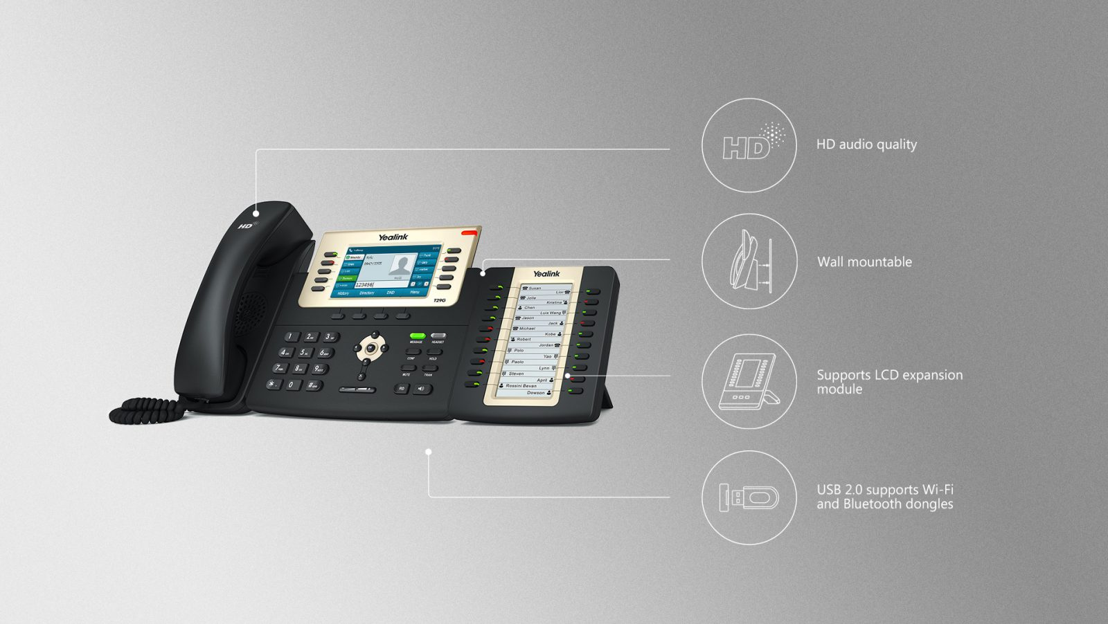 Yealink T29G IP Phone - Hong Kong Hotline: 39001988 - Matrix Technology (HK) Ltd