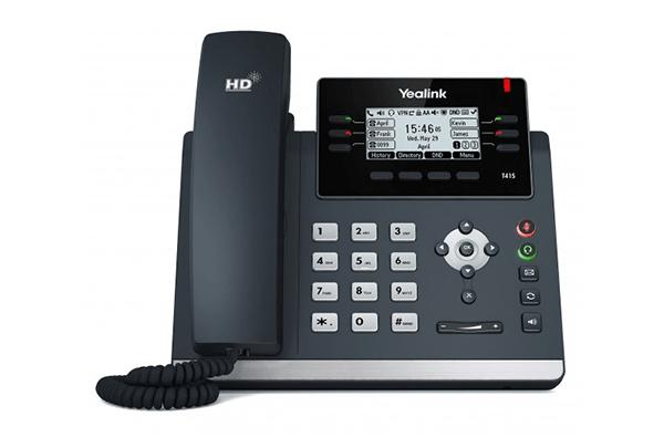Yealink T41S IP Phone – 10/100M, POE 2.7″ LCD