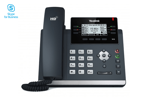 Yealink T41S Skype for Business® Edition