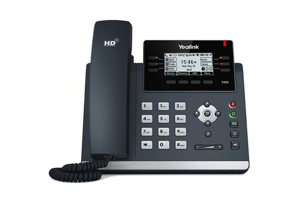 Yealink T42S IP Phone – Giga POE 2.7″ LCD