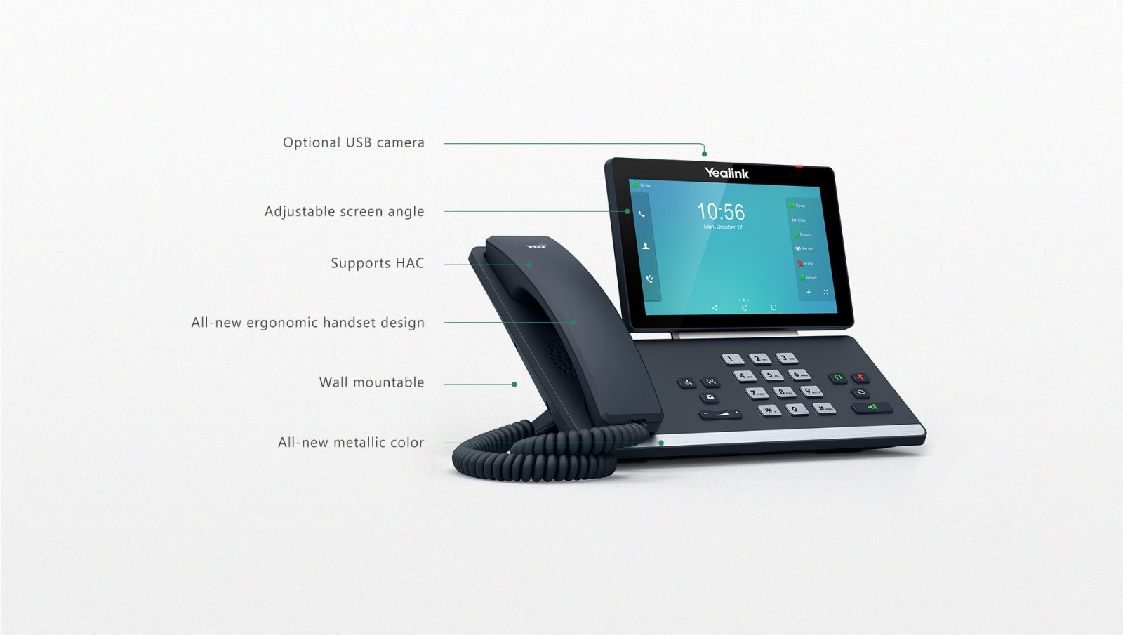 Yealink T58A Smart IP Phone