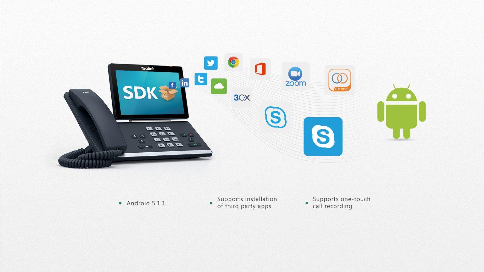 Yealink T58A Smart IP Phone