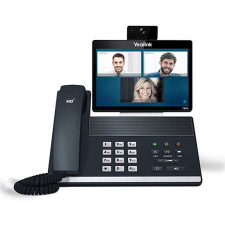 Yealink T49G Video IP Phone – Giga, 8″ touch Screen