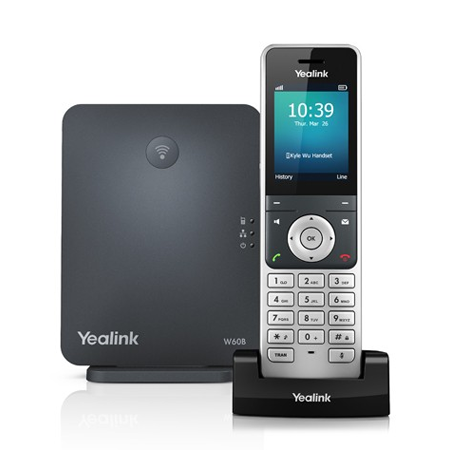 Yealink W60P DECT IP Phone Package (Include: W60B Base + W56H IP DECT Phone)