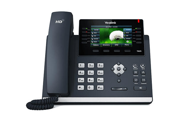 Yealink T46G Gigabit POE IP Phone (Old Model)