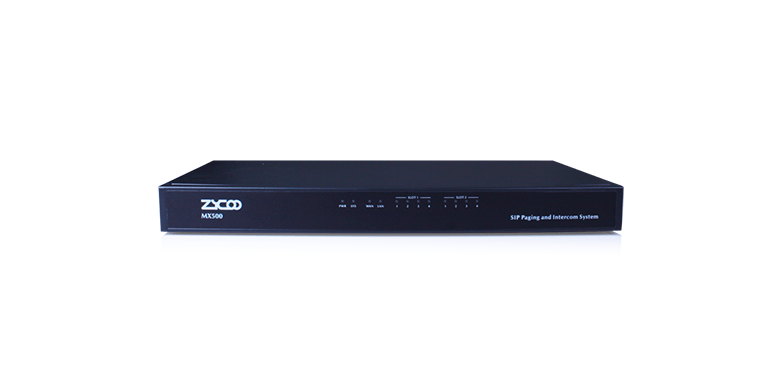 Zycoo MX500 SIP Paging and Intercom System
