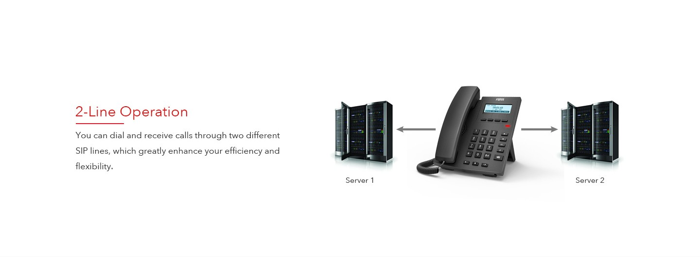 Fanvil X1P Entry Level IP Phone - Fanvil Hong Kong - 香港代理