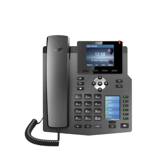 Fanvil X4G IP Phone (Gigabit & POE)