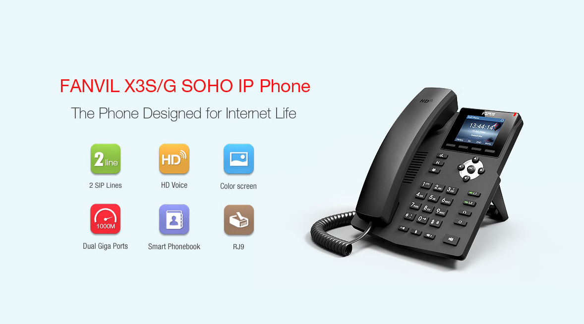 Fanvil X3G IP Phone - Hong Kong Distributor - 香港代理