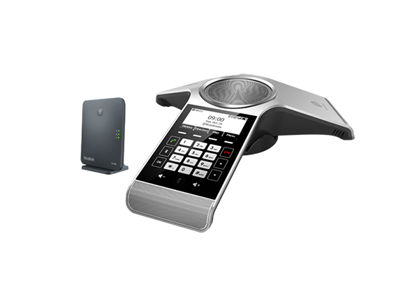 Yealink CP930WB Wiresless DECT IP Conference Phone Package (Include: CP930W + W60B base)