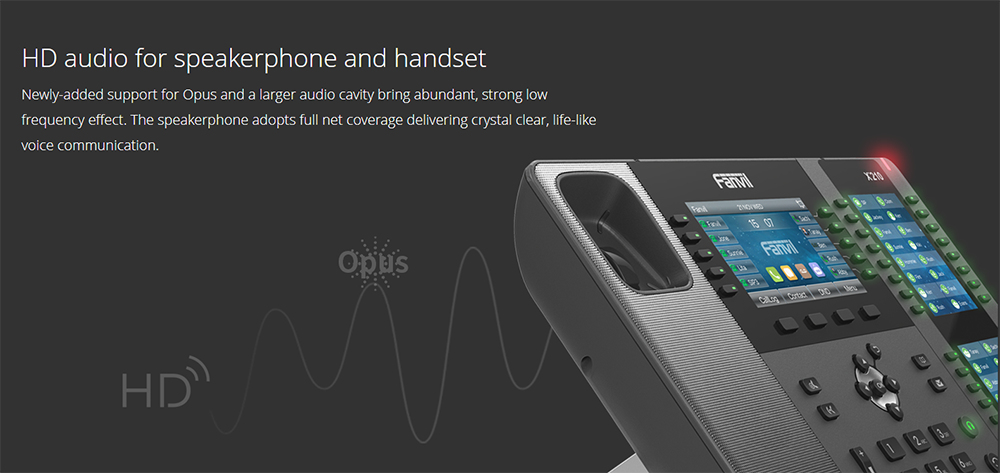 Fanvil X210 IP Phone (For operator) - Fanvil Hong Kong - 香港代理