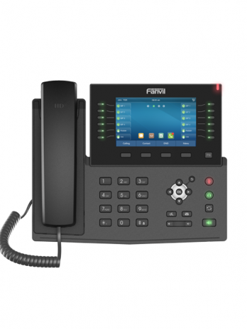 Fanvil X7C 5″Color Screen Gigabit IP Phone (POE)