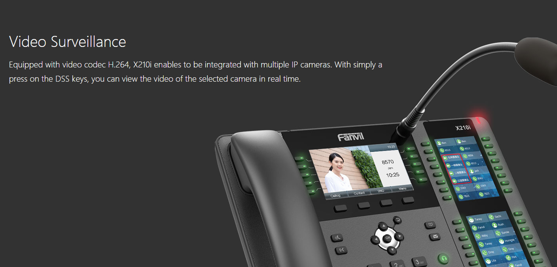 Fanvil X210i Visualization Paging Console IP Phone - Fanvil Hong Kong - 香港代理
