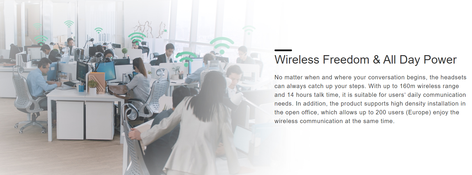 Yealink WH63 Convertible DECT Wireless Headset - Sipmax Hong Kong - 香港代理