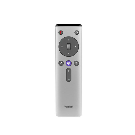 Yealink VCR20 Remote control for UVC80/50/40 camera