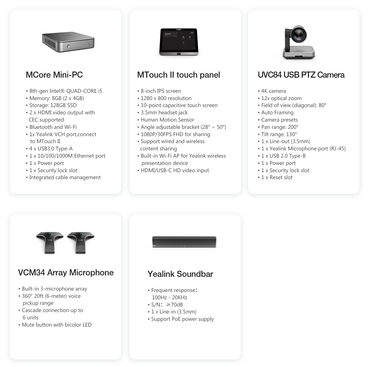 Yealink MVC840 Microsoft Teams Room System - Hong Kong Supplier - 香港代理